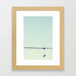 Sky Babies Framed Art Print