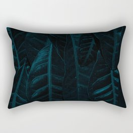 leaves at night Rectangular Pillow