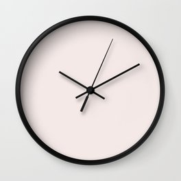 PETAL PINK Wall Clock