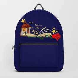 Who Tells Your Story Backpack