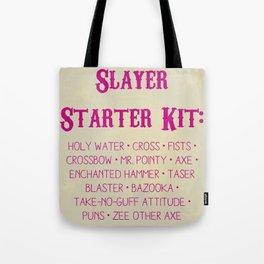 Slayer Starter Kit Tote Bag