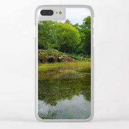 Hidden Caves Clear iPhone Case
