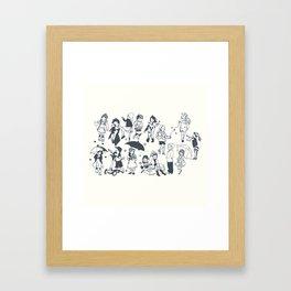 Moments of Children Framed Art Print