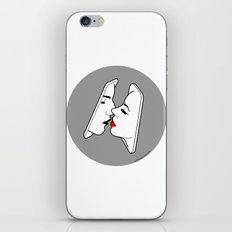 Smart kiss iPhone & iPod Skin