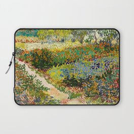 Garden at Arles by Vincent van Gogh, 1888 Laptop Sleeve