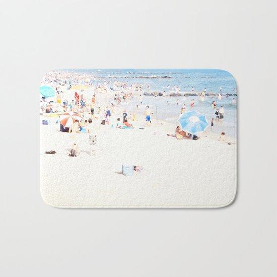 Blue Beach Brooklyn Bath Mat