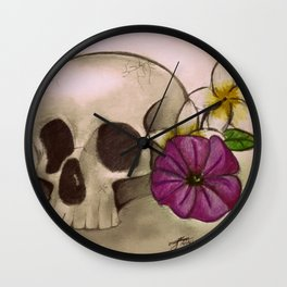 Death & Beauty Wall Clock