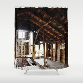 Exploring the Longfellow Mine of the Gold Rush - A Series,No. 5 of 9 Shower Curtain