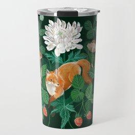 Strawberry Fox Travel Mug