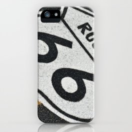 Route 66 sign. iPhone Case