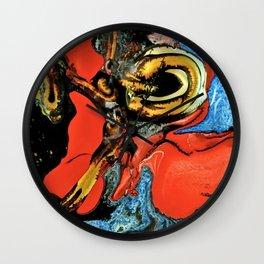Color Explosion 6 Wall Clock