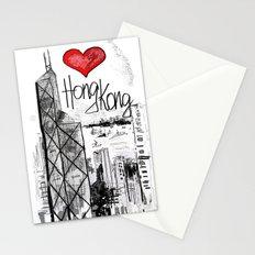 I love Hong Kong  Stationery Cards