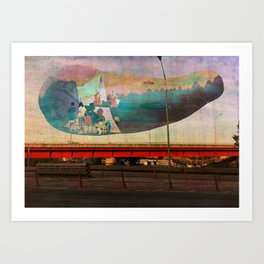 Memories of the past 2 Art Print