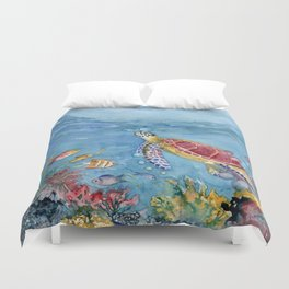 Going Up No 2 Duvet Cover