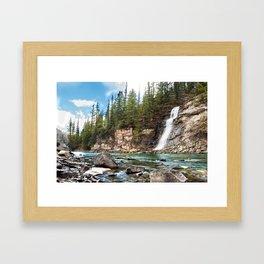 Bear Creek Falls Framed Art Print