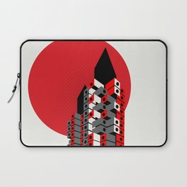 Brutalist Japan, The Nakagin Capsule Tower Laptop Sleeve