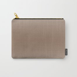 Pastel Brown to Brown Horizontal Bilinear Gradient Carry-All Pouch