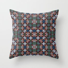 PATTERN ABSTRACT LITTLE HIBISCUS 2 BLOSSOM 2 Throw Pillow