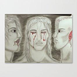 Hear no See no Speak no Canvas Print