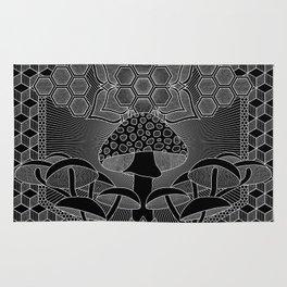 Mushroom Mandala I Rug