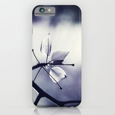 Spring Leaves in Black and White  iPhone 6s Slim Case