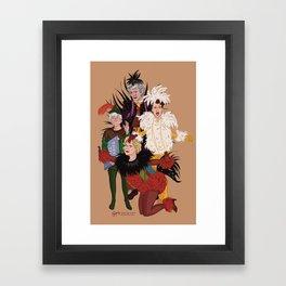 Henny Penny – Straight, No Chaser Framed Art Print