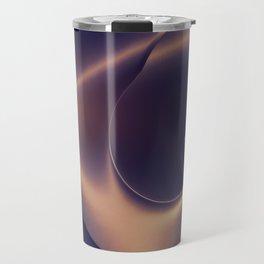 Steel Abstraction Travel Mug