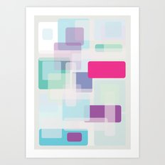 Shape series 3 Art Print