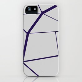 PURPLE GEOMETRIC iPhone Case