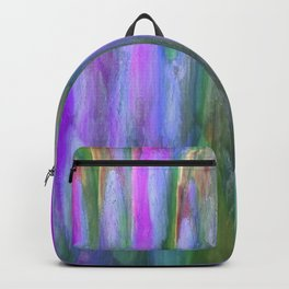 The Cavern in Shades of Violet and Green Backpack