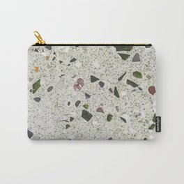 green Terrazzo Carry-All Pouch