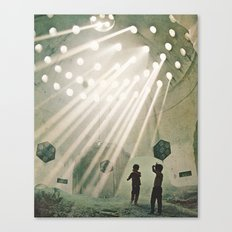 laboratory in the sky... Canvas Print