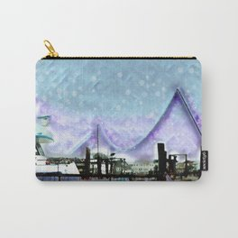 Winter Day at theBay Carry-All Pouch