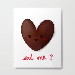 Eat Me? Metal Print