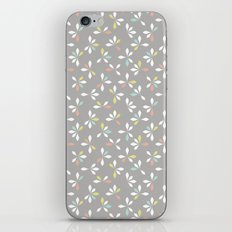 loves me loves me not pattern - pastel iPhone & iPod Skin