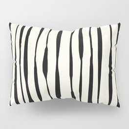 Retro Stripe Reverse Pillow Sham