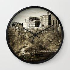 Vintage City Park Wall Clock