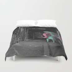 Unseen Monsters of Melbourne - Dimples McGee Duvet Cover