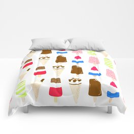 Classic Summer Ice-Creams Comforters