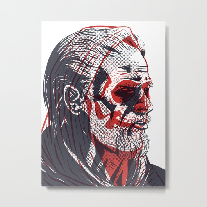 Duality - Sons of Anarchy Metal Print