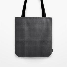 Black & Grey Simulated Carbon Fiber Tote Bag