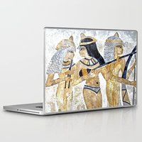 egyptian Laptop & iPad Skins featuring Egyptian Musicians by Brian Raggatt