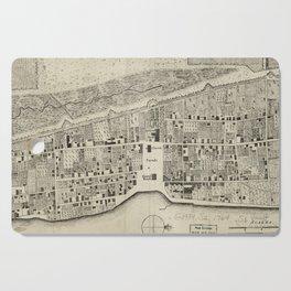 Vintage Map of St. Augustine FL (1764) Cutting Board