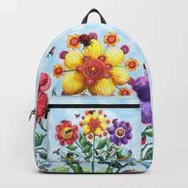 Ladybug Playground on a Summer Day Backpack