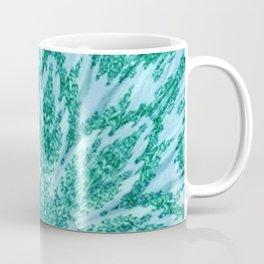 Vintage Doily Teal Green Kaleidoscope Coffee Mug