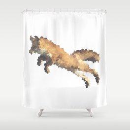 Penrose Tiling Fox  Shower Curtain