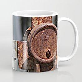 Vintage Rusty Scale Closeup Coffee Mug
