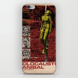 Cannibal Holocaust Poster iPhone Skin