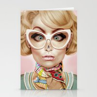 fly Stationery Cards featuring Fly Away by Giulio Rossi