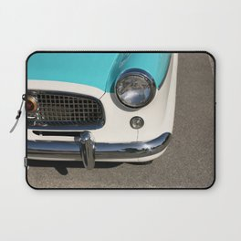Vintage Car Headlight Laptop Sleeve